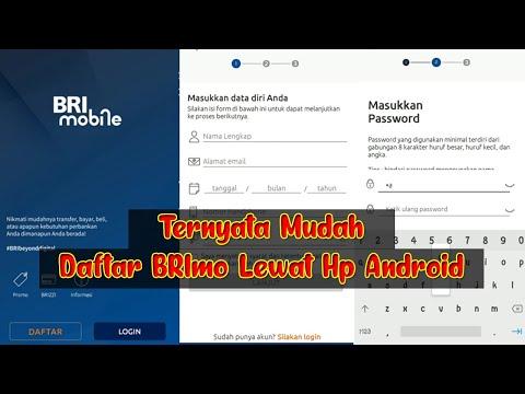 Cara Daftar BRI Mobile Terbaru Di Hp Android