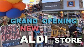 New ALDI Store Grand Opening in Hesperia, CA