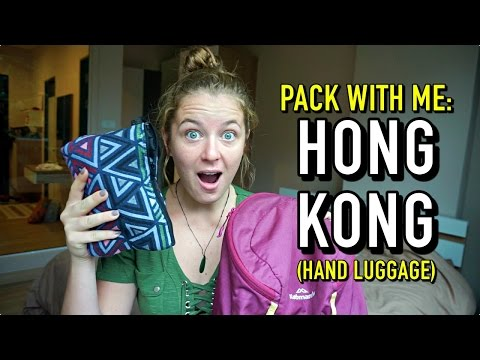 PACK WITH ME | HONG KONG (Hand Luggage Only)