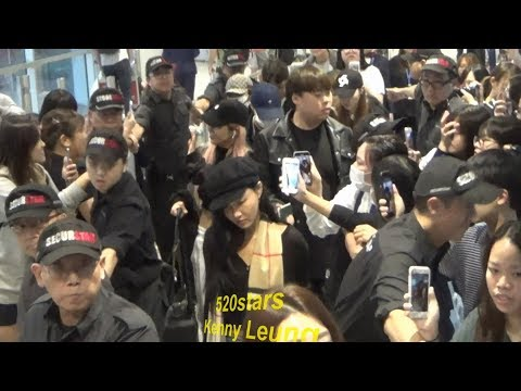 MAMAMOO(마마무) Arrived Hong Kong Airport 20181016