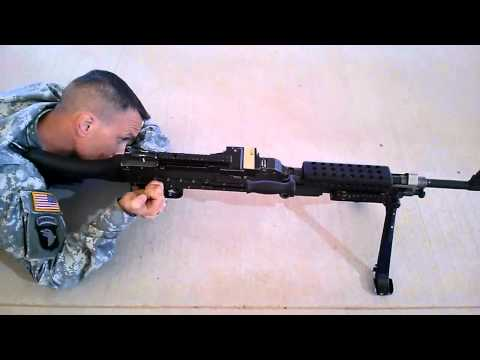 M240 Load Fire Clear Steps