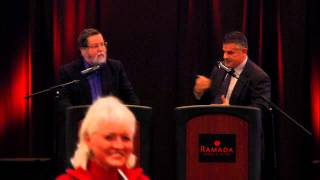 Dr. Fuz Rana and Dr. PZ Myers Debate