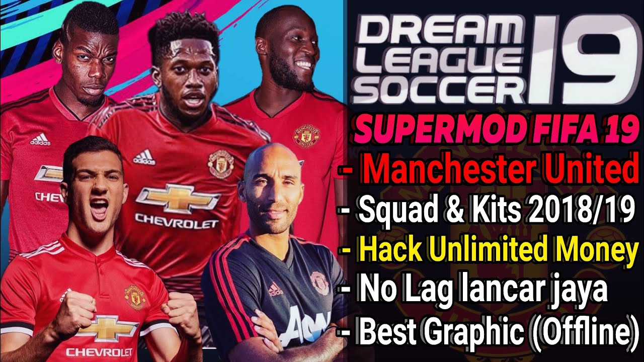 Download Dream League Soccer Mod Manchester United Squad