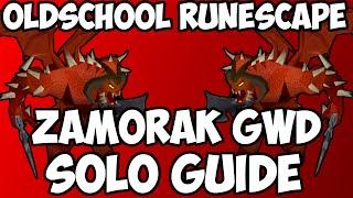 Oldschool Runescape - Solo Zamorak Godwars Guide | 2007 Zammy Guide