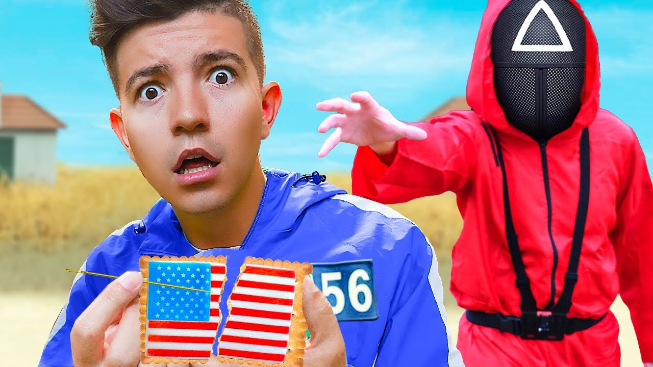 Download Playing SQUID GAME in Real Life! *American Edition*