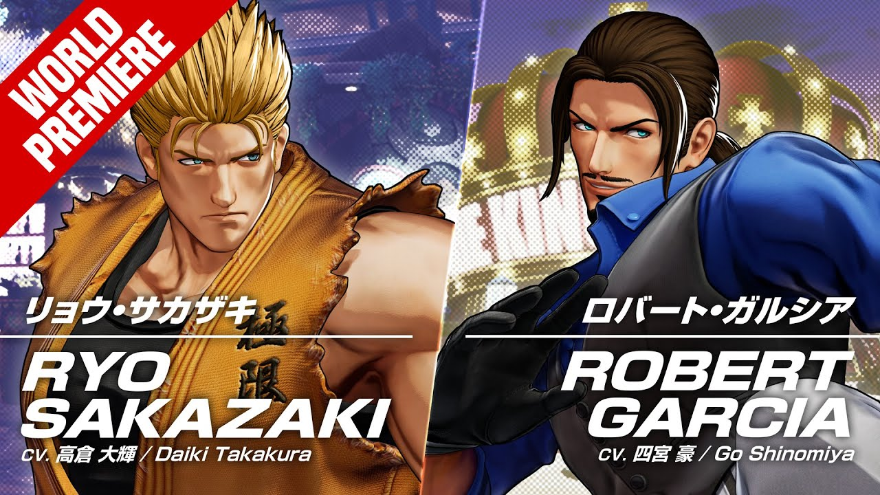 KOF XV|RYO SAKAZAKI & ROBERT GARCIA|Trailer #16 #17【TEAM ART OF FIGHTING】