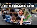 TRIP TO BANGKOK THAILAND BEGINS