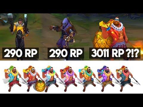 THE EVOLUTION OF CHROMAS - LEAGUE OF LEGENDS SKINS FROM RECOLOR TO REDESIGN ! + HOPES FOR THE FUTURE thumbnail