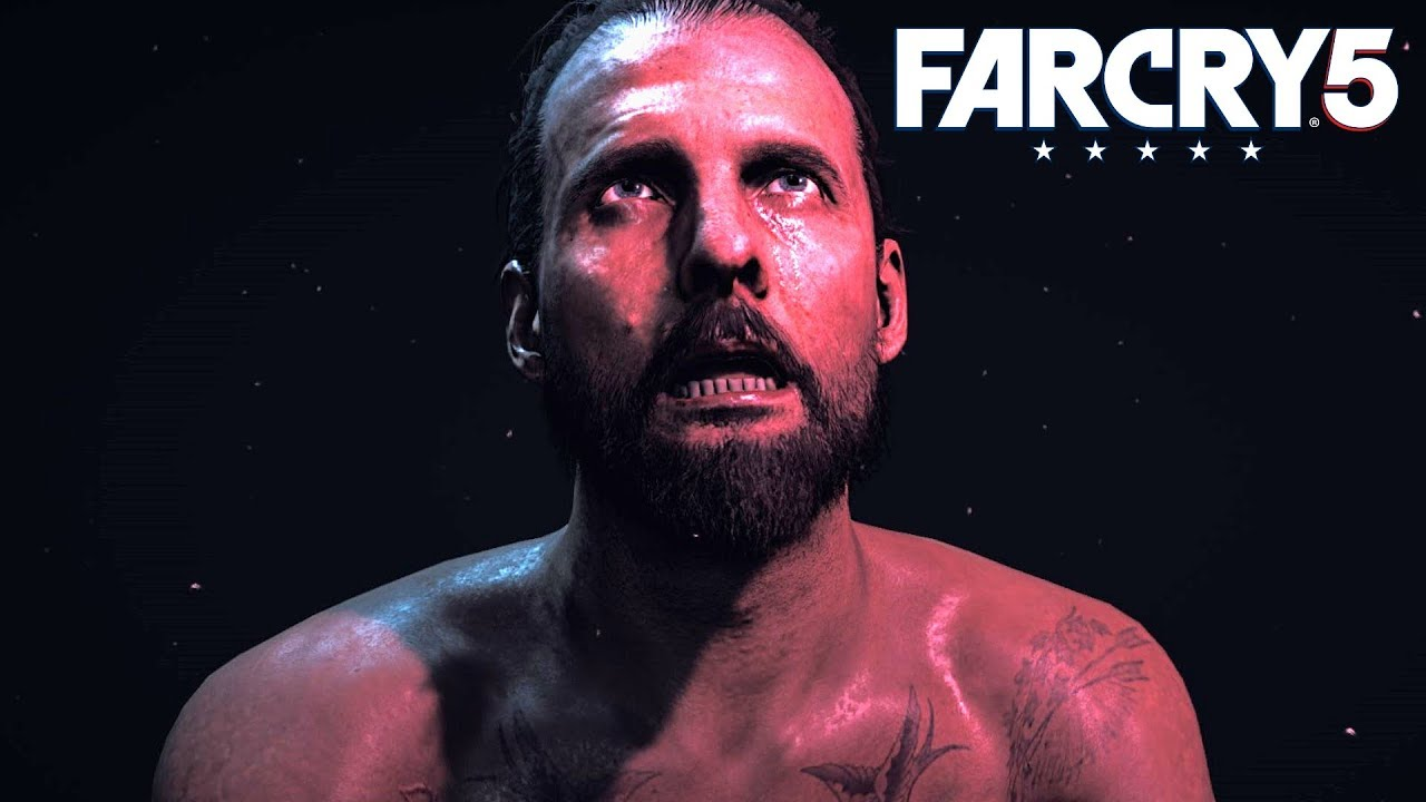 Far Cry 5 The Father Reacts To The Deaths Of His Brothers And