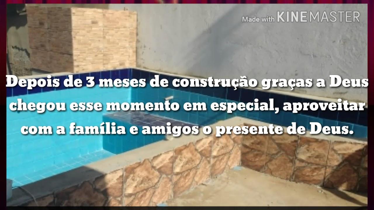 Como construir uma piscina 4x3 2017 youtube for Piscina desmontable 4x3