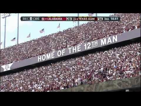 2013 #1 Alabama vs #6 Texas A&M  HD