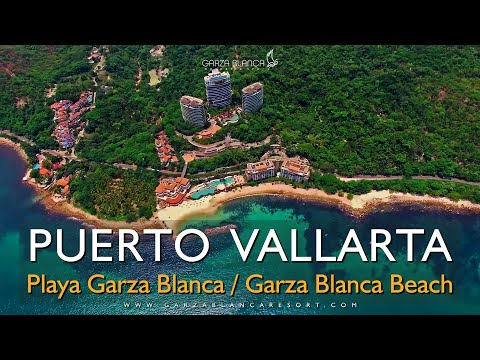 😍 Playa Garza Blanca Beach Puerto Vallarta Jalisco Mexico 🏖