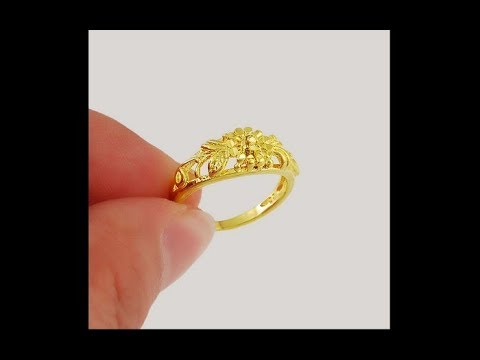 Gold Ring Design With Weight In Pakistan Youtube