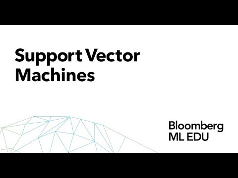 10. Support Vector Machines