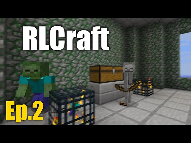 My first death... (RLCraft- Ep.2)