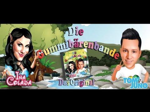 Ina Colada & Tom Juno - Die Gummibärenbande ( Das offizielle Musikvideo )