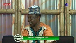 DIMANCHE AVEC VOUS (Me Emmanuel AGBOR ASHU) EQUINOXE TV DU 08 JUILLET 2018