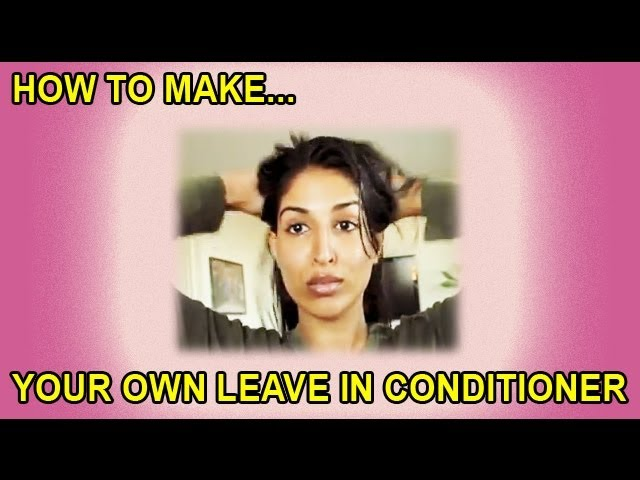How To Make Your Own Leave in Conditioner - Rosemary Treatment