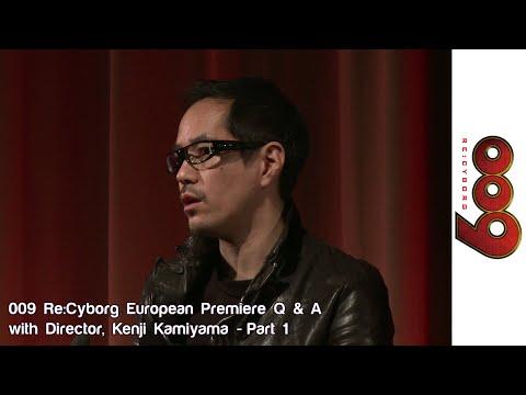 Kenji Kamiyama 009 Re:Cyborg Q&A At BFI London - Part 1