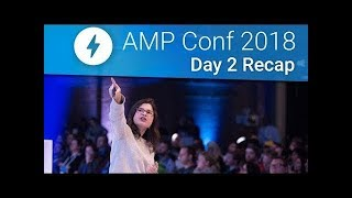 AMP Analytics, E-commerce & More at AMP Conf 2018! (Day 2 Recap)