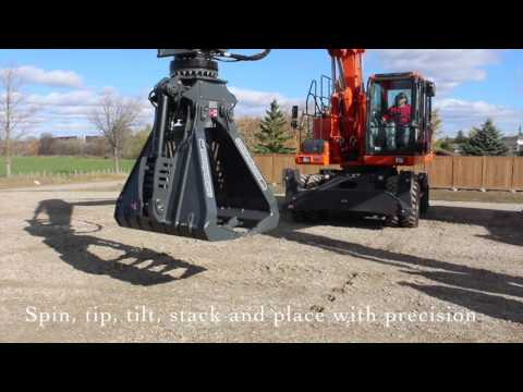 AMI Attachments Access Mat Grapple