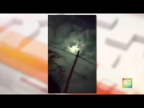 Meteorito sobre el Valle del Cauca