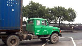 long nose truck in china