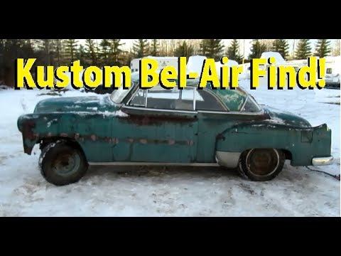 Rare Find! 1951 Chevy Bel-Air 50's Kustom!
