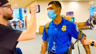 Federal worker slaps cameraman for taking pictures at the airport (EPIC FAIL)