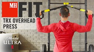 trx row to overhead   mh fit   michelob ultra