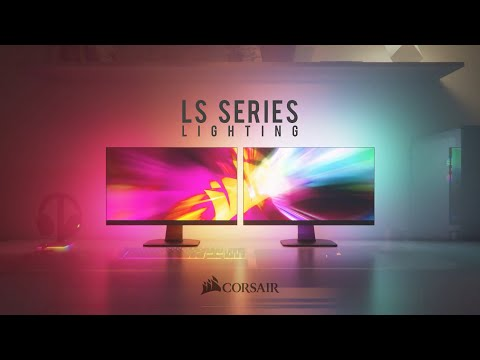 CORSAIR iCUE LS100 Smart Lighting Strips - Surround Yourself with A Symphony of Color