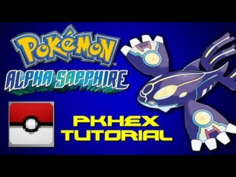 Pokemon Alpha Sapphire: PkHex Tutorial