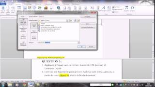 MOS WORD 2010 Spécialiste Q3 et Q4 réaliser par A AITALI