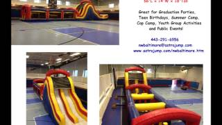 Inflatable Obstacle Course Rentals Baltimore | 443-291-6956