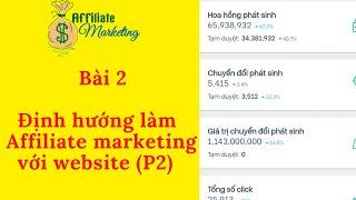 Bài2: Định hướng kiếm tiền Affiliate Marketing với Website | kiếm tiền tiếp thị liên kết (Phần 2)