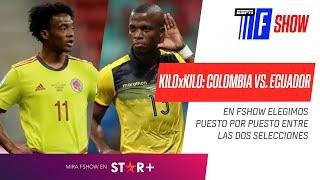 ¡El KILOxKILO de #Colombia vs. #Ecuador!