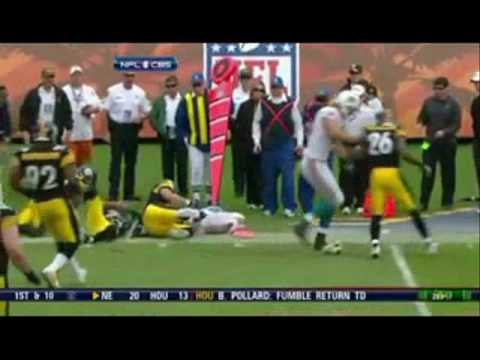 Ike Taylor Hammers Pat White