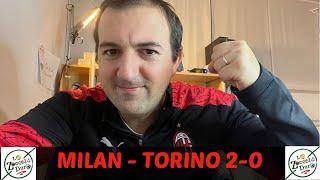 MILAN - TORINO 2-0 ANALISI DELLA PARTITA