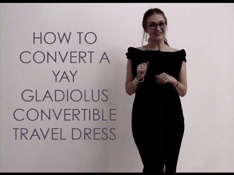 Convertible Travel Dress