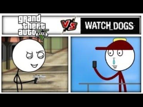 GTA vs Watch Dogs
