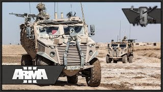 Large Convoy & Tunnel Network Clearing - ArmA 3 Zeus Gameplay 1440p60