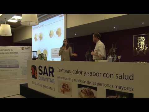 Jornada SARquavitae Valencia.Taller práctico: Texturizados, colores y sabores.
