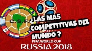 ¿Porque las eliminatorias son mas competitivas en Sudamérica?