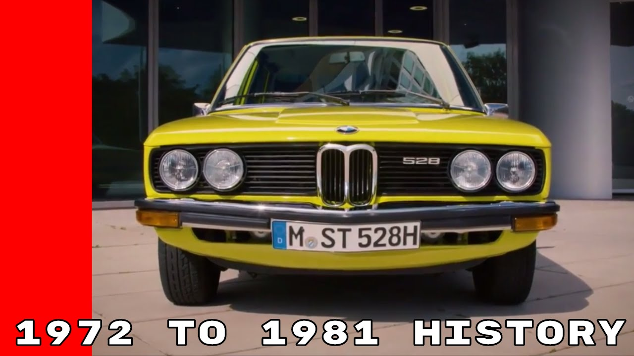 1972 To 1981 1st Generation E12 BMW 5 Series History - YouTube
