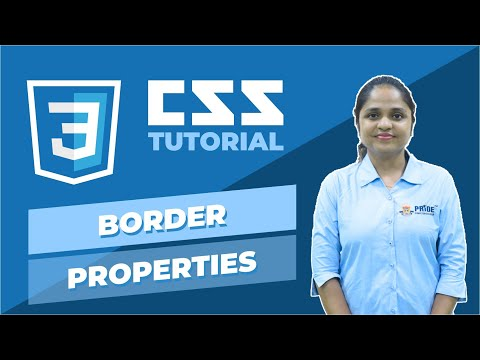 CSS Tutorial | In Hindi | BORDER PROPERTIES  | PRIDE COMPUTER EDUCATION thumbnail