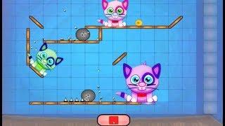 Juegos Divertidos Para Niños - Cat Shmat - Videos Para Niños