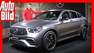Mercedes-AMG GLC 63 S Coupé 4matic (2019) Premiere - Vorstellung - erste Bilder