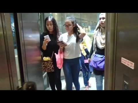 Singapore, Expo MRT Station, 1200kg, 13 Persons Elevator | Sony Xperia Z5