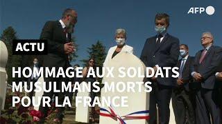 Darmanin rend hommage aux soldats musulmans morts pour la France | AFP Images
