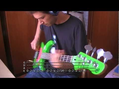 Guerilla Radio bass TAB Rage Against The Machine